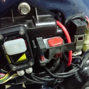 故障診断データ削除とスロットル開度センサーのリセット