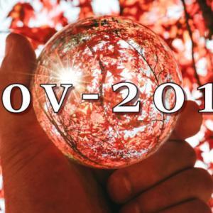 2019年11月 月次運用レポート、11月は小型・新興株ががんばった!! 損益は月間+125万円。