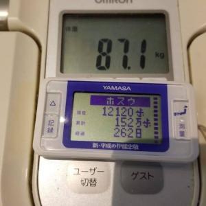 徒歩通勤 70万歩チャレンジ 11日目