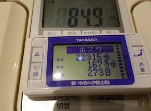 徒歩通勤 『70万歩チャレンジ』 3週間目  -6.7kg