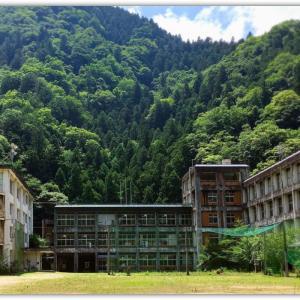 旧一宇中学校(徳島県つるぎ町)
