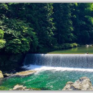 碧き清流 貞光川の中流にある『そばごや』