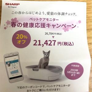 ハイテク猫トイレ!ペットケアモニターを注文!購入の経緯