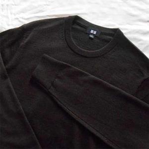 【Wardrobe】UNIQLO エクストラファインメリノクルーネックセーター