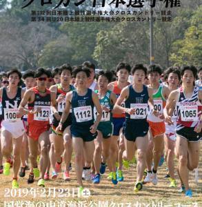 第102回クロスカントリー日本選手権2019年:結果速報