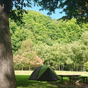 色々便利な立地だった無料のキャンプ場!おんねゆ温泉つつじ公園キャンプ場