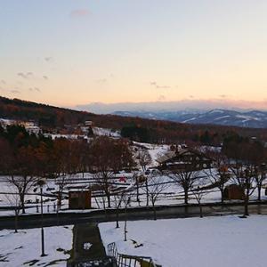 冬キャンプのはじまりは、新幕のはじまり!エルム高原家族旅行村