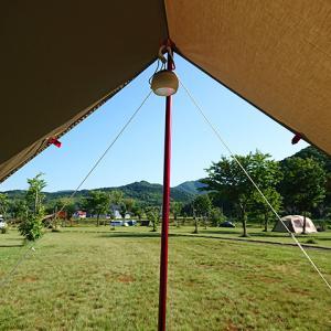 くそ暑い日でも焚き火とカレーのためにソロキャンプに行く!