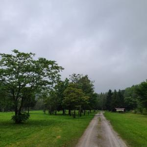 【旅キャンプ3泊目】豪雨の中でキャンプ!ピンネシリオートキャンプ場