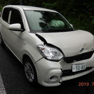 自動車事故を起こしてしまいました・・・!