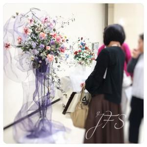 クレイのお花の展示会in奈良、無事終わりました。