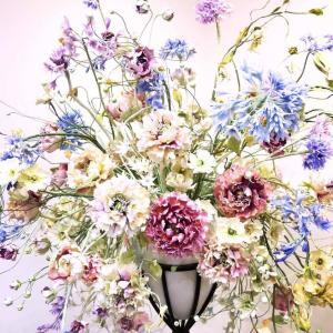 クレイでつくるお花の展示会終了しました。