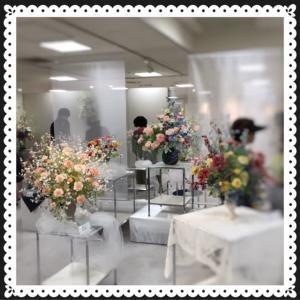 さっぽろ東急にて粘土で創るお花の展示会2019.7.25から。。。