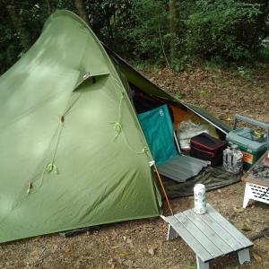 令和元年 第18回キャンプ 草刈りを挟んでの二泊三日キャンプ 1/2