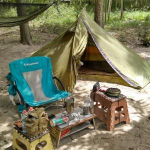 令和2年 第14回キャンプ 面倒くさがり屋のゼロ円キャンプ