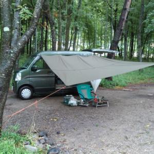 令和元年 第9回キャンプ 久々の雨キャン