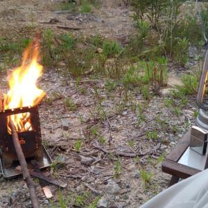 令和元年 第12回キャンプ 仕事終わりからの新野営地
