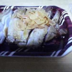 9/13(金) チキンステーキ(惣菜ですが)美味かったな。