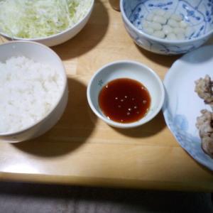 3/25(水) 豚小間で焼肉定食。