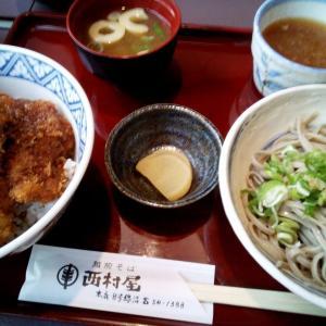 8/9(日) 福井県でソースカツ丼と越前そば。