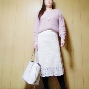 【GU×ユニクロ】王道かわいいピンク×白でコーデ