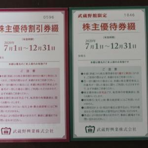 株主優待063:武蔵野興業
