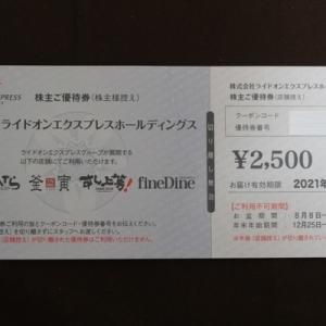 株主優待064:ライドオンエクスプレスホールディングス