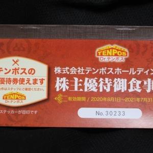 株主優待079:テンポスホールディングス