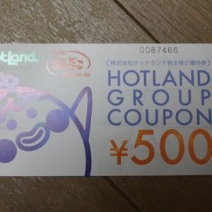 株主優待099:ホットランド