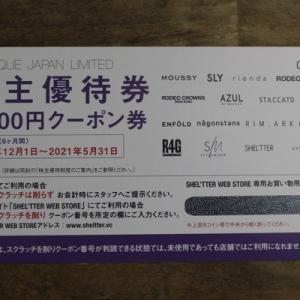 株主優待124:バロックジャパンリミテッド