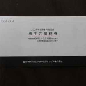 株主優待090:日本マクドナルドホールディングス