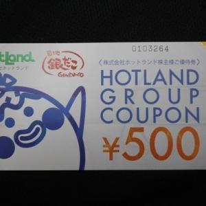 株主優待093:ホットランド