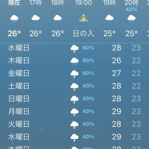 雨の日の送迎つらいっ