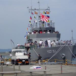 柏崎市 自衛艦の一般公開
