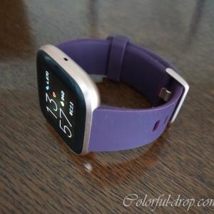 新しいスマートウォッチ-Fitbit Versa2