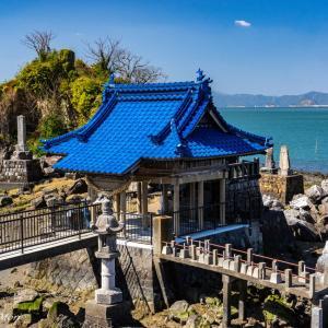 水島と龍神社