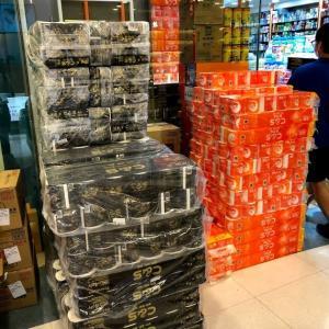 トイレットペーパーもアルコール除菌も復活?!香港の街で急に見かけるようになってきた!