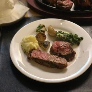 結構前に行ったステーキを思い出す。「The Patagonia Argentinian Steak House」で食べたあの味。