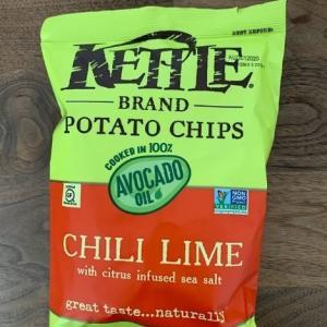 ポテトチップス食べ比べ!「KETTLE  CHIPS(ケトルチップス)」チリライム味