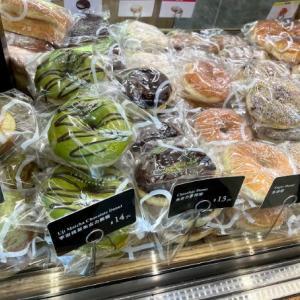 日本のパン屋さん「A-1 Bakery(エーワンベーカリー)」でポンデリングみたいなドーナツ売ってますよ~♪