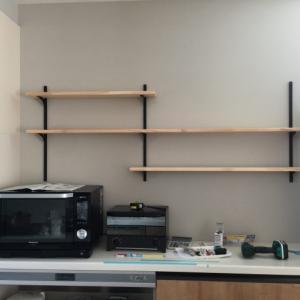 キッチン背面収納にDIYで棚を追加~page2~♪