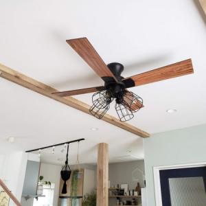 吹き抜けじゃない低い天井にシーリングファンを付けました。効果はあるの?取付に注意することは?おすすめ商品一覧あり。