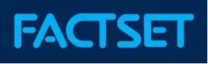 来たー! FactSet 11%暴落!