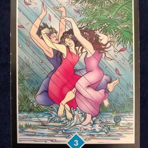 今日のカード(CELEBRATION)