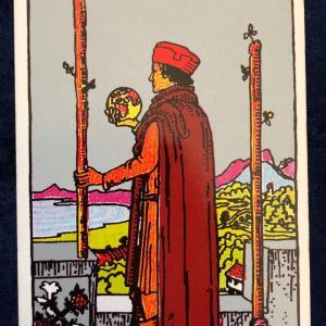今日のカード(ワンドの2)