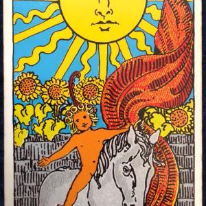 今日のカード(太陽)