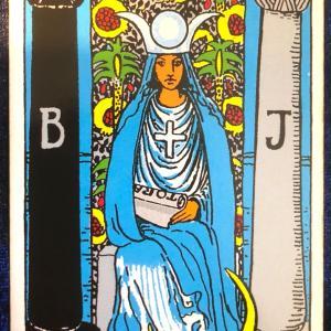 今日のカード(女教皇)