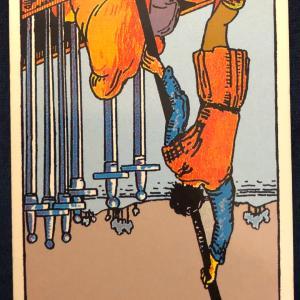今日のカード(ソードの6 逆)