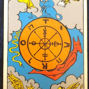 今日のカード(運命の輪)