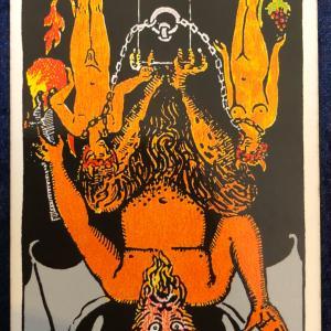 今日のカード(悪魔 逆)